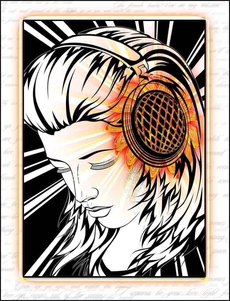 музыка...
