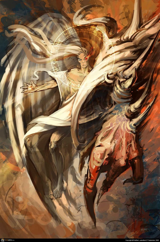 демонический ангел