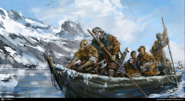Беженцы севера.