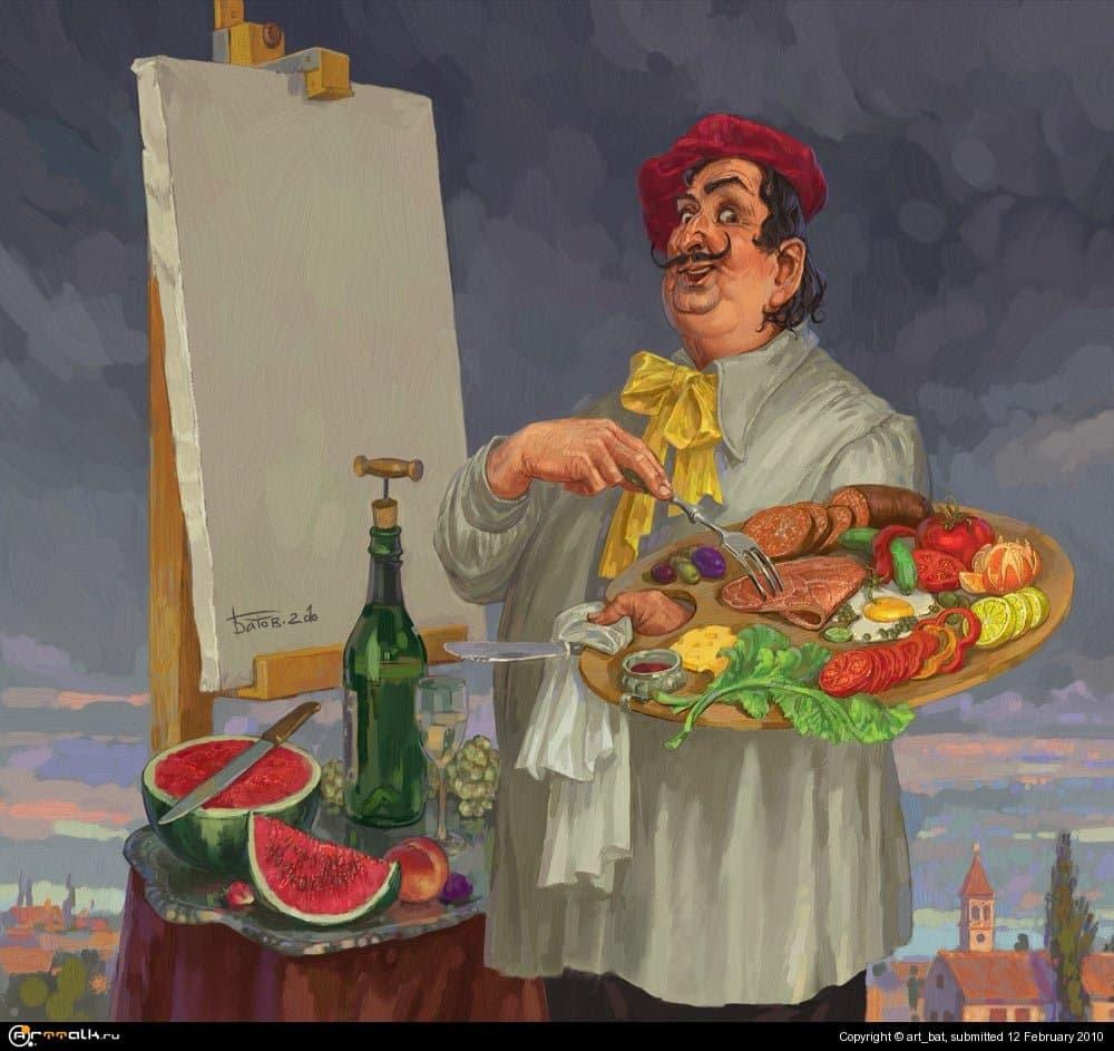 Художник должен быть голодным?