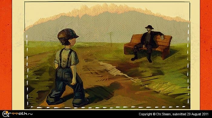 Awesome Farm: Comics Sheet - Good Morning