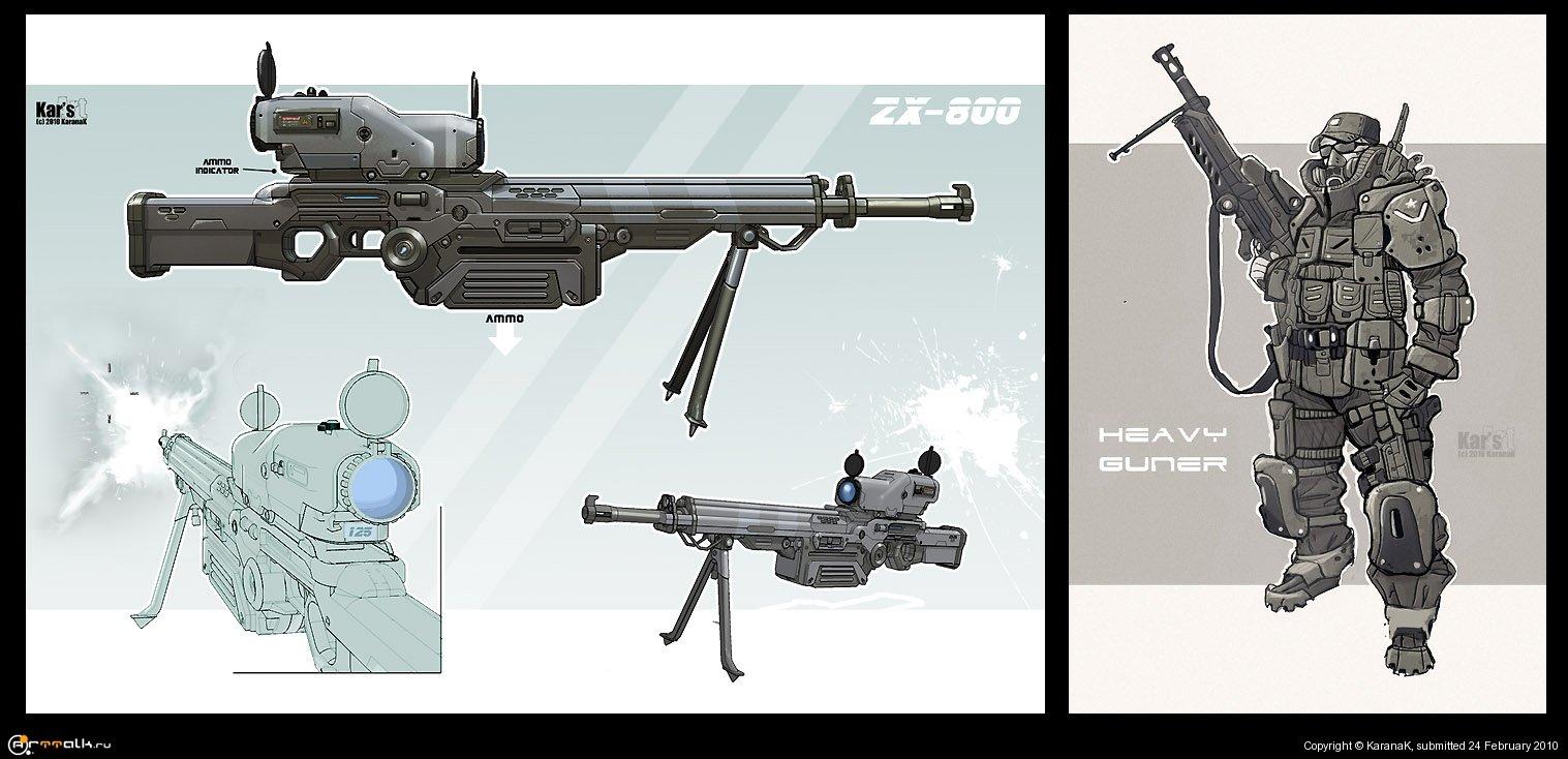 Heavy Guner & Zx-800