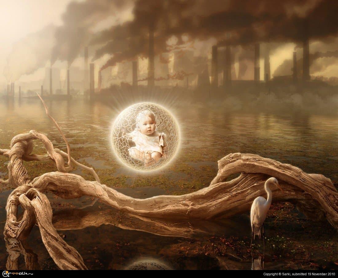 Человек родился.