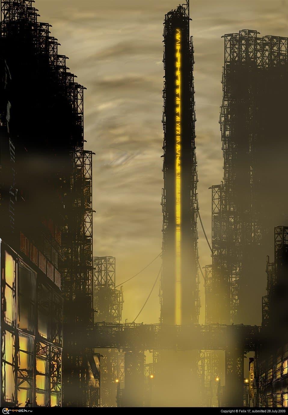 Покинутый город