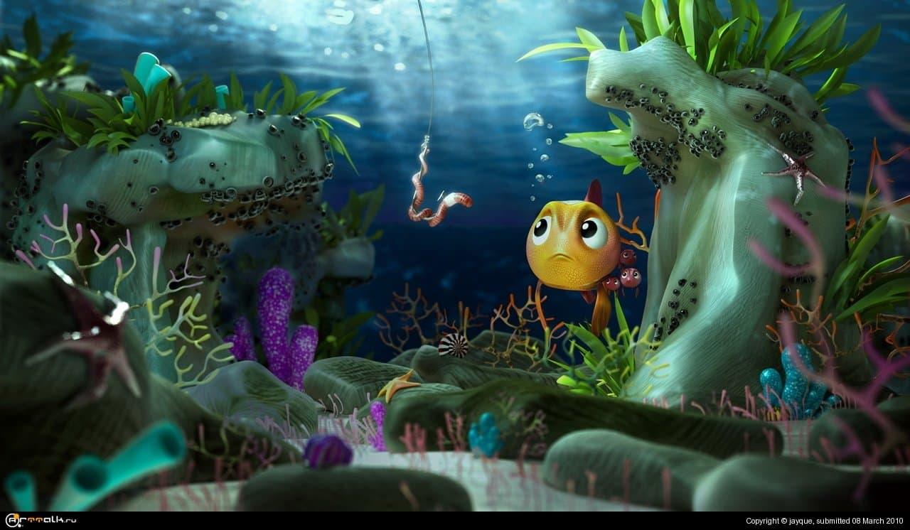 Fish In The Sea | Рыбка в море