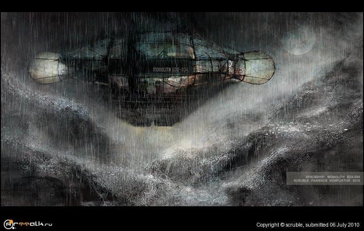Spaceship: Monolith Sdx - 034