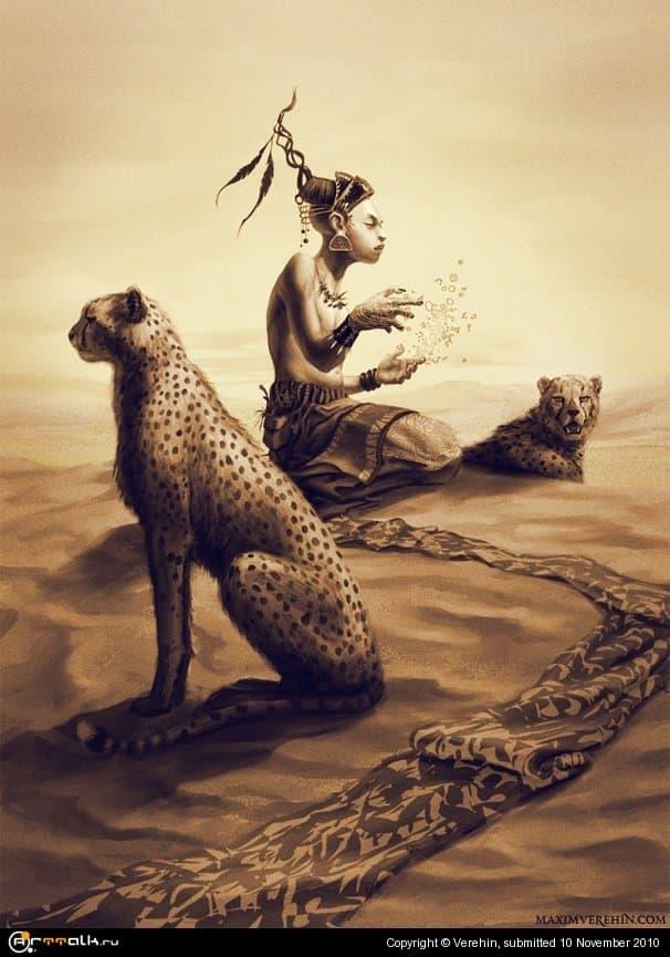 African Hermit