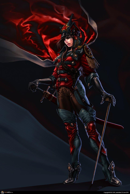 Красная Всадница