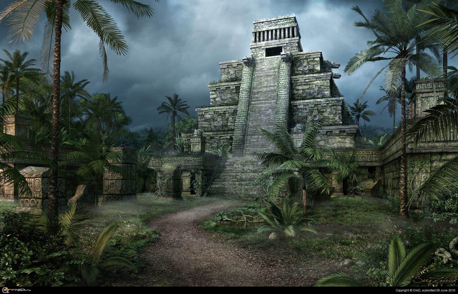 Пирамида в джунглях