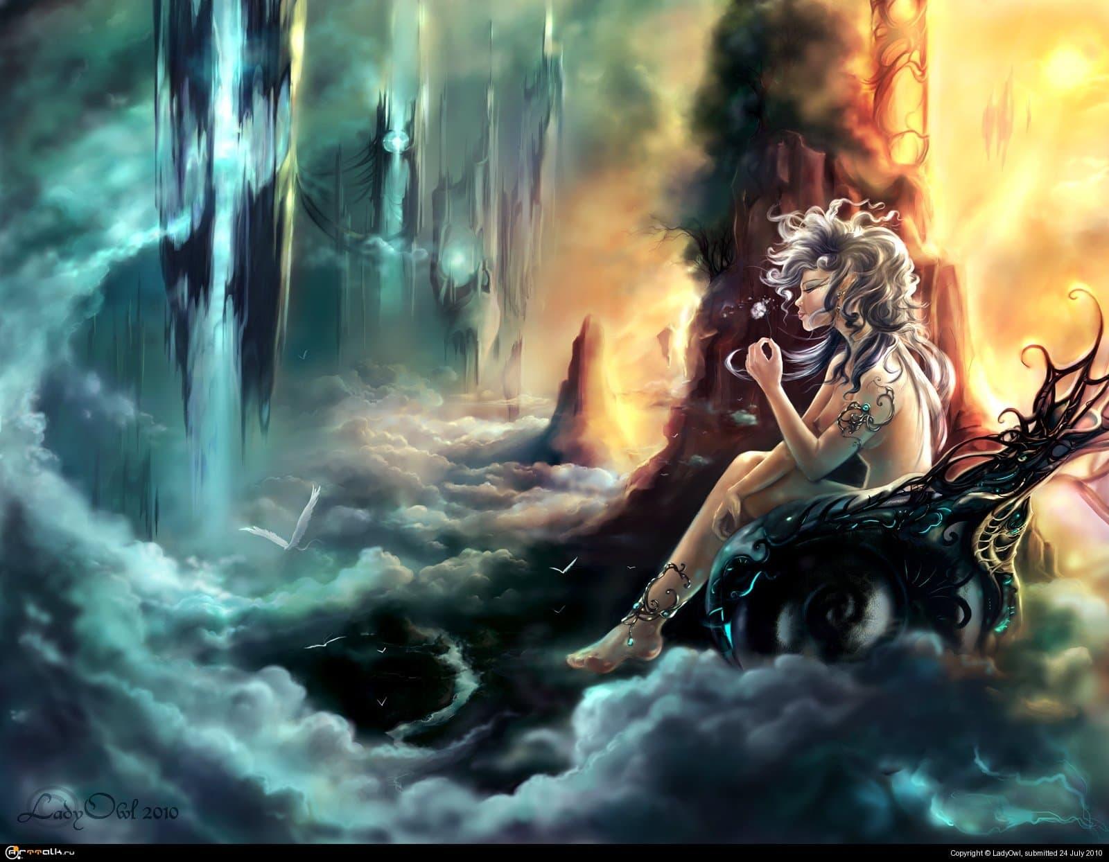 Чертоги Богов - Towers Of Clouds.
