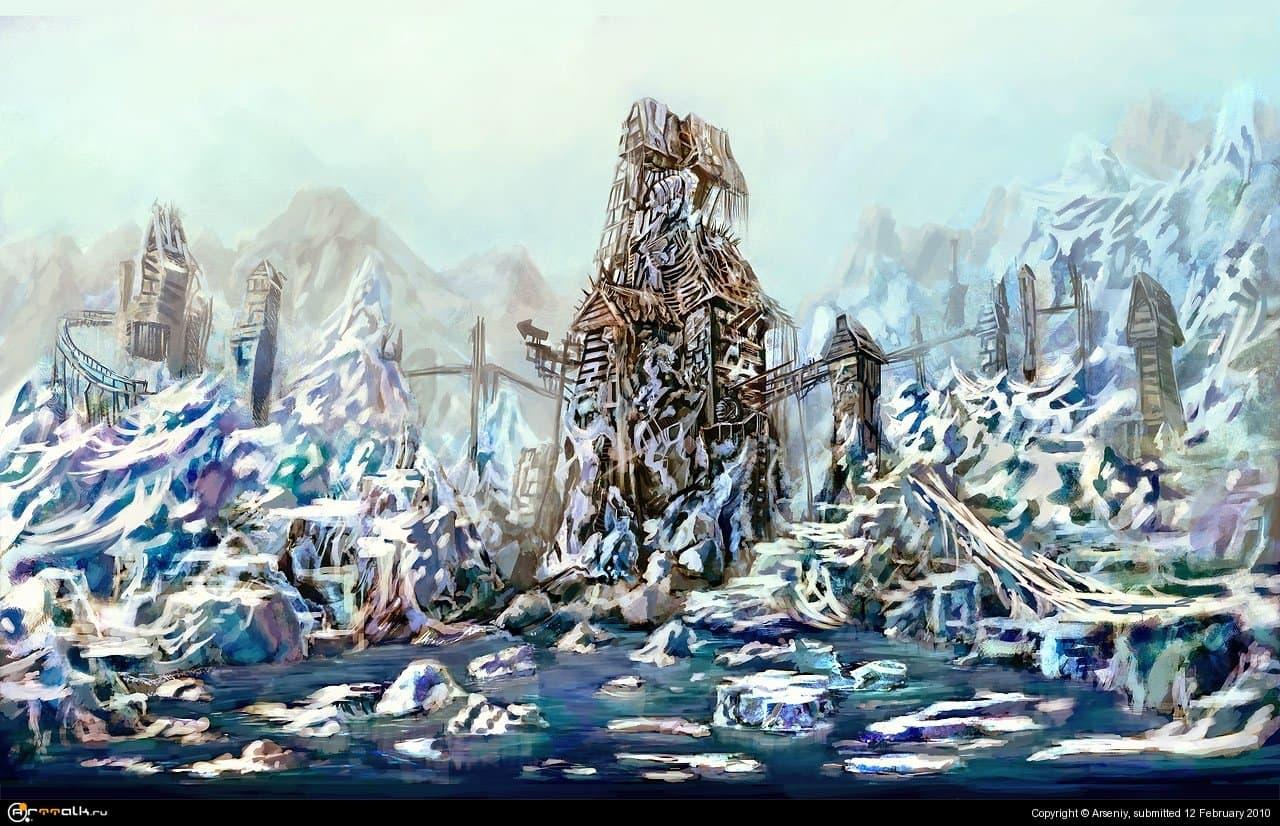 Хижина Снежной Королевы