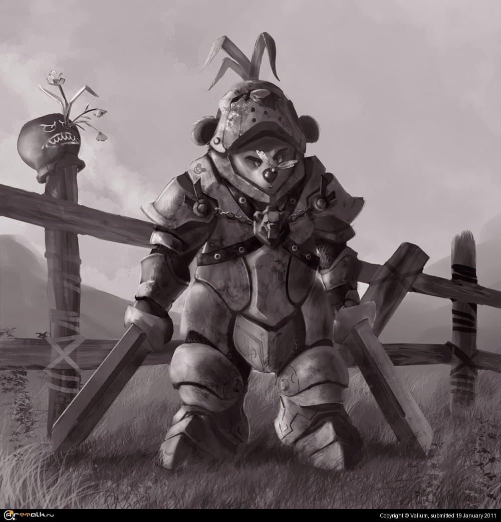 Плюшевый рыцарь