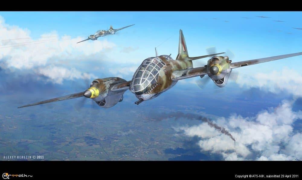 Тяжёлый истребитель сопровождения бомбардировщиков