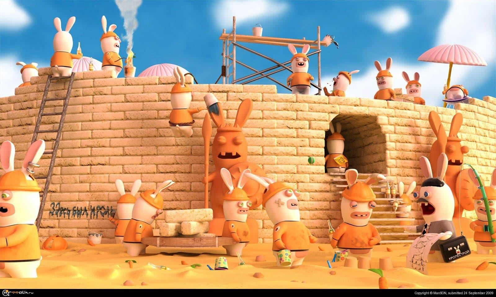 Вавилонская башня: вызов создателю. Попытка не пытка или кролики тоже могут это...