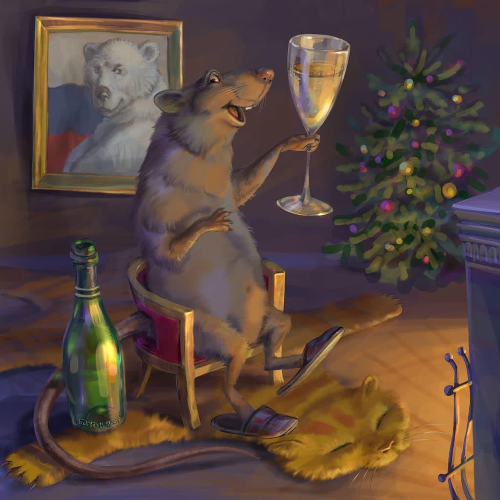 Крыса новый год