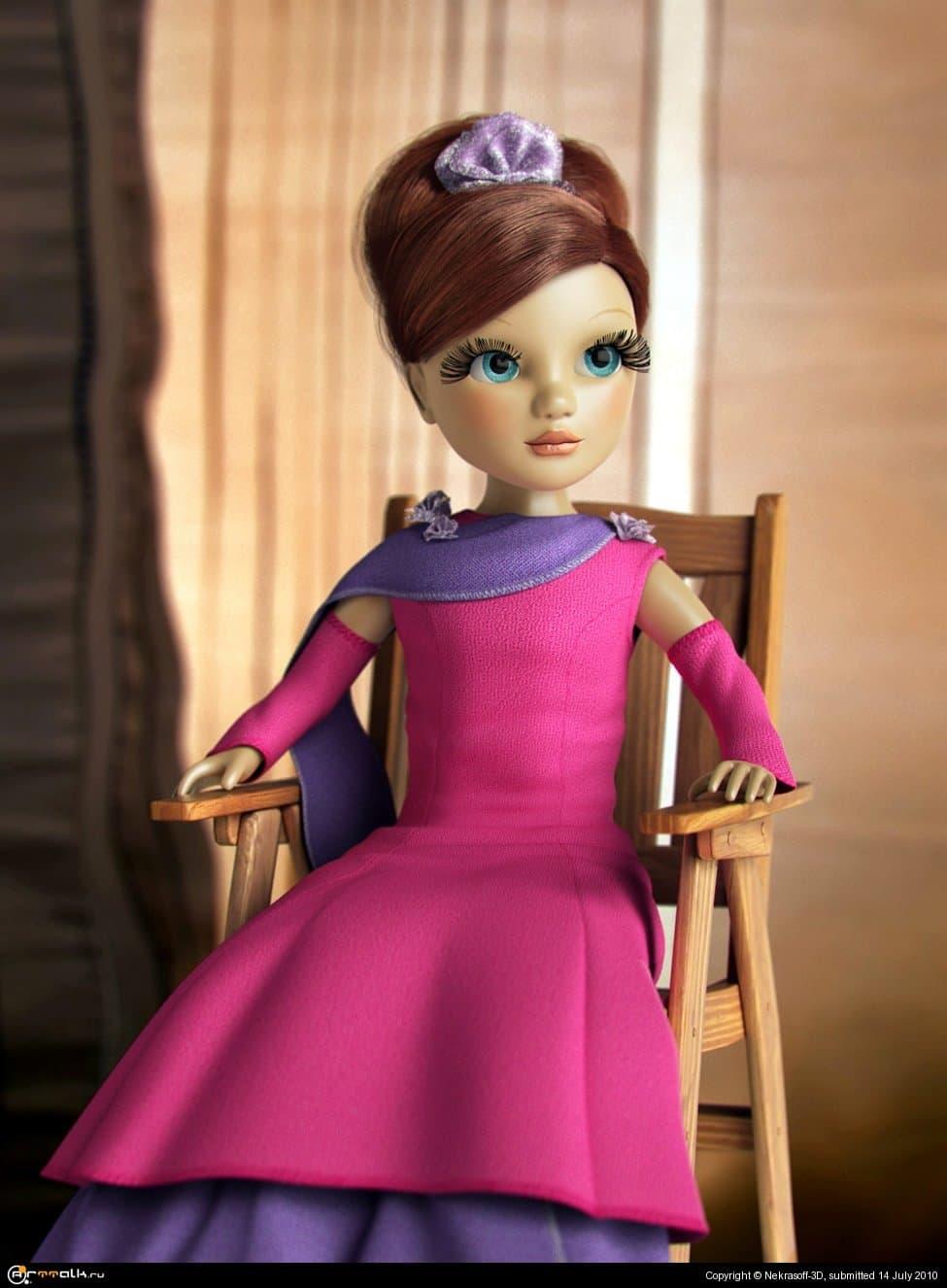 Дочкина кукла