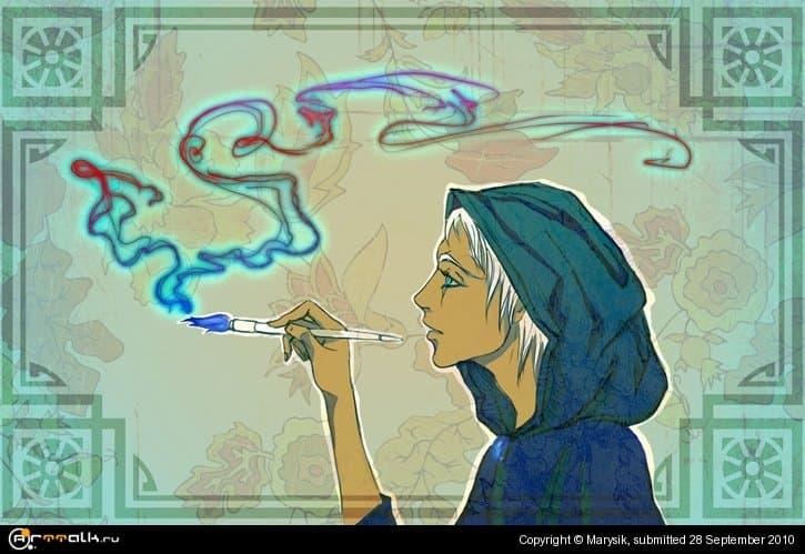 Курим кисти)