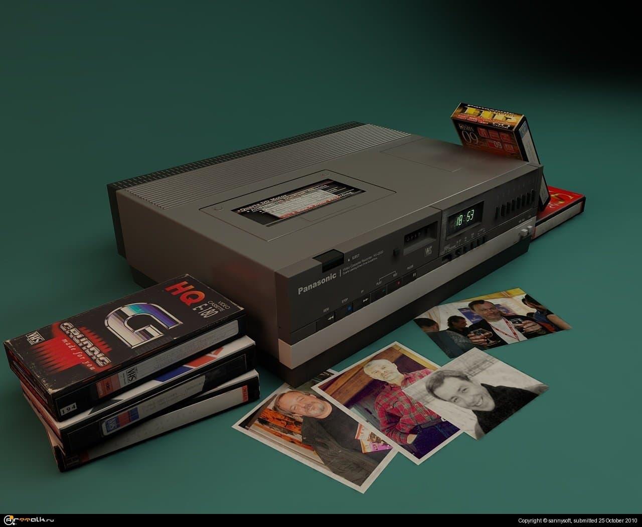 Видеомагнитофон Panasonic Nv-2000
