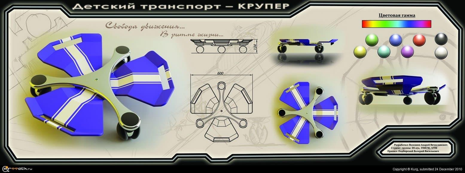 Детский транспорт - КРУПЕР