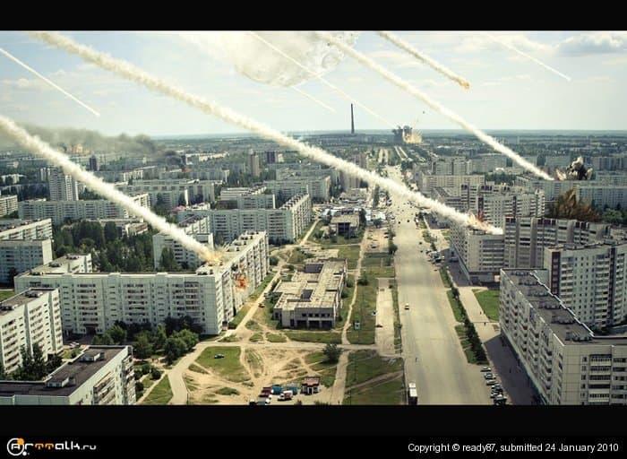 мой город... и конец света