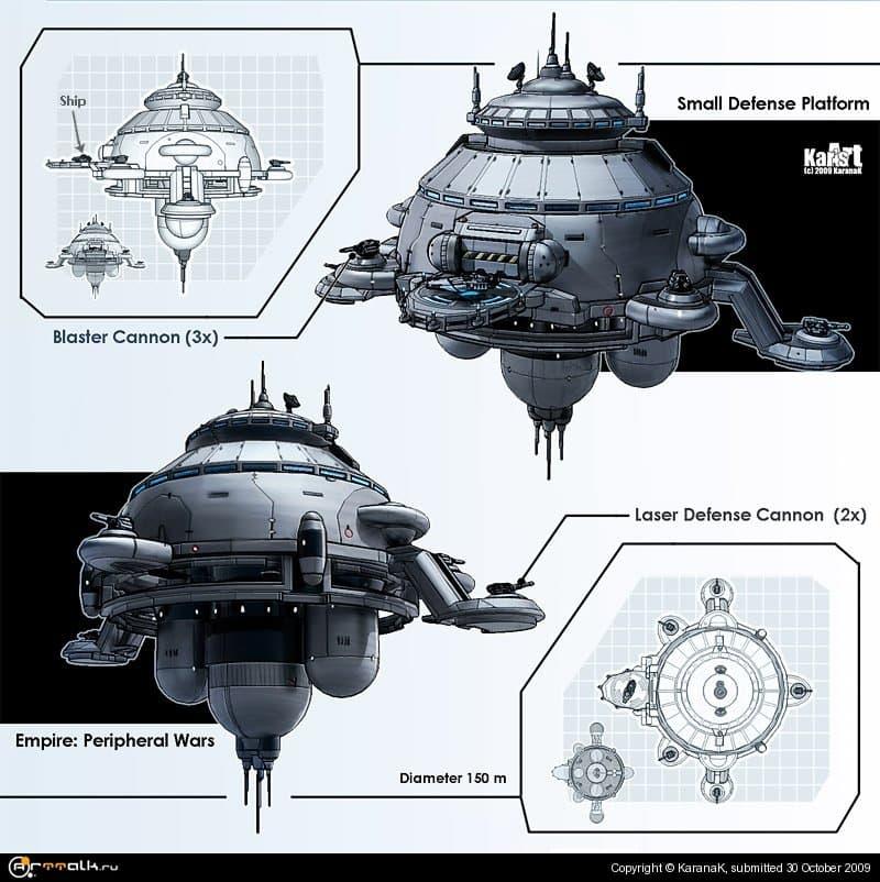 Small Defense Platform (concept)