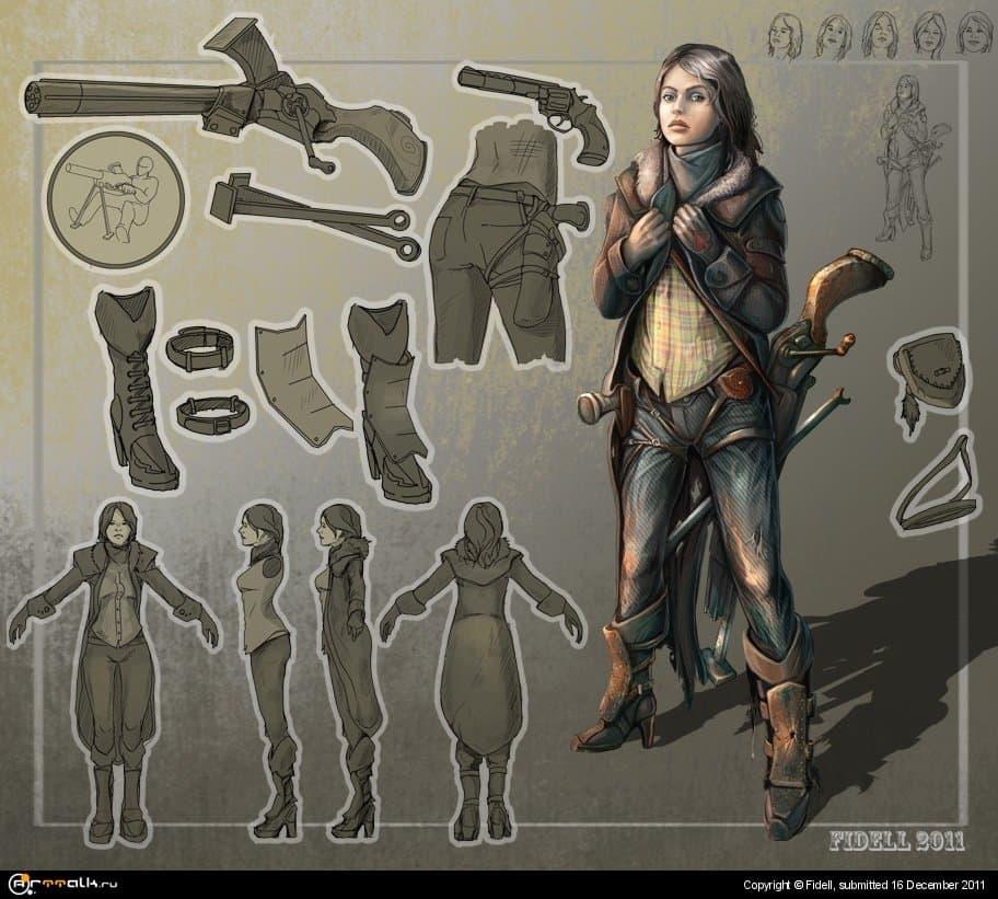 Девушка с пулеметом