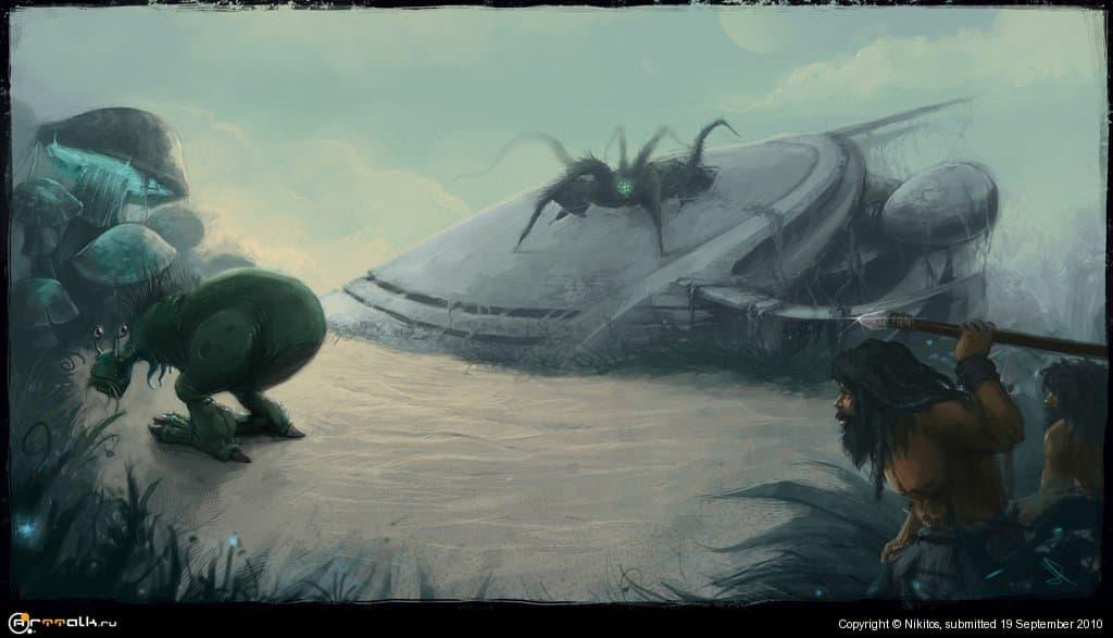 охота на инопланетянена