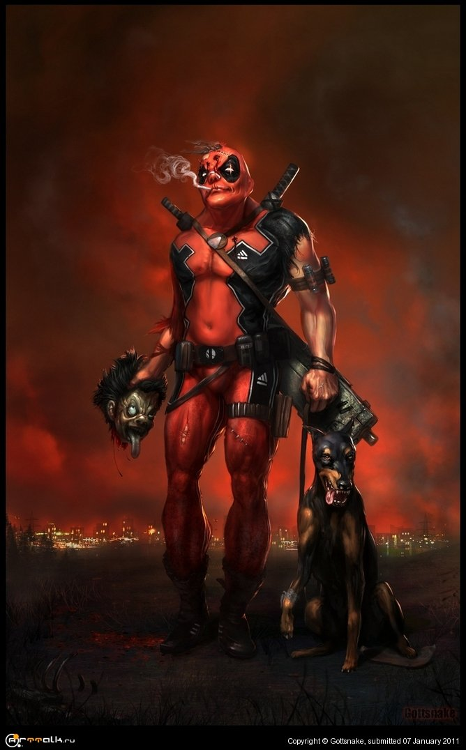 Deadpool (comicon Challenge 2010)