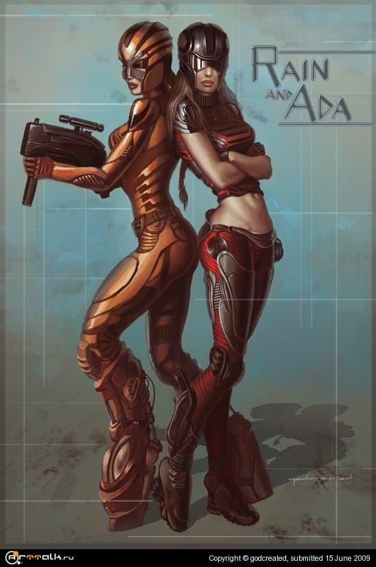 Рэйн и Ада
