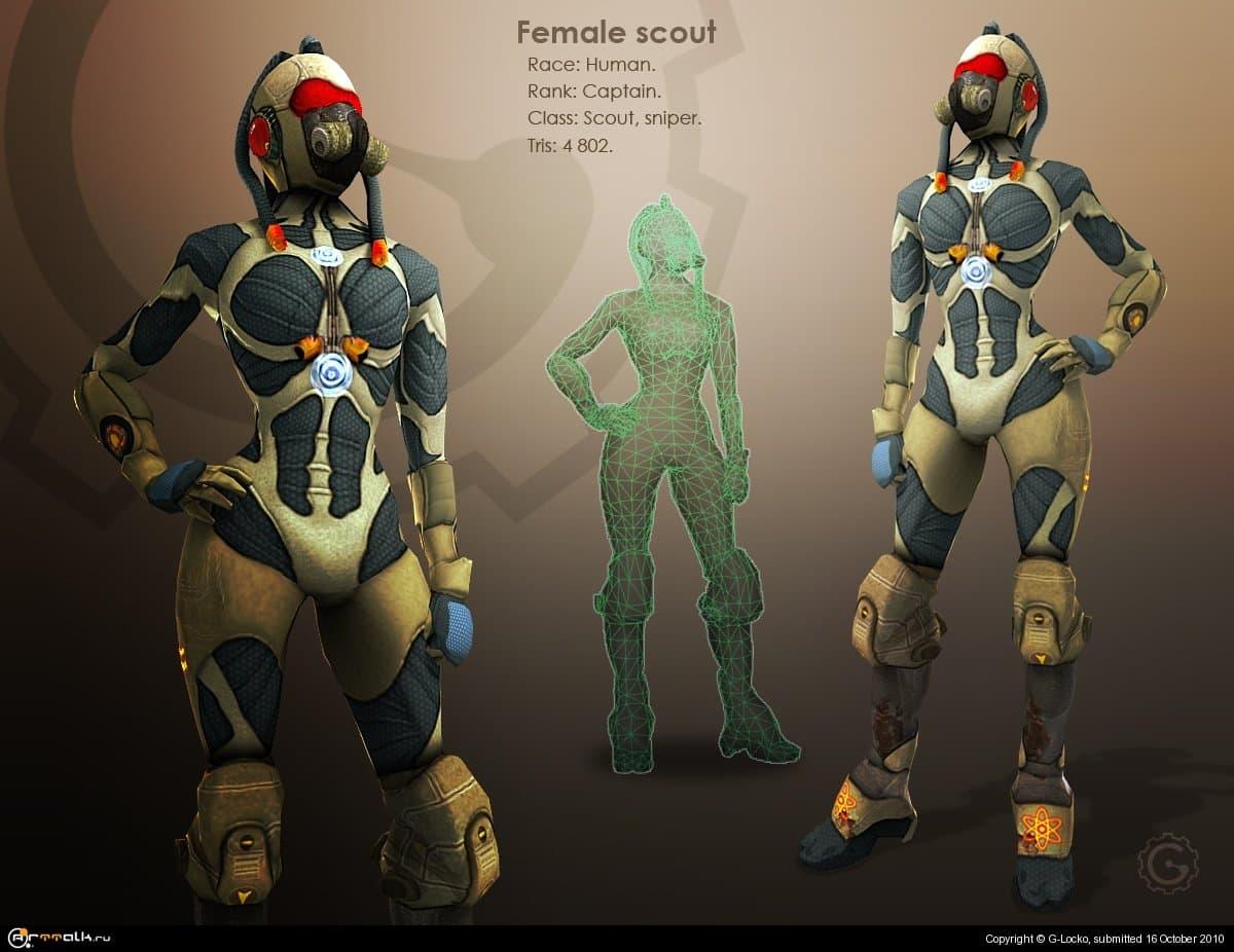 Female Scout