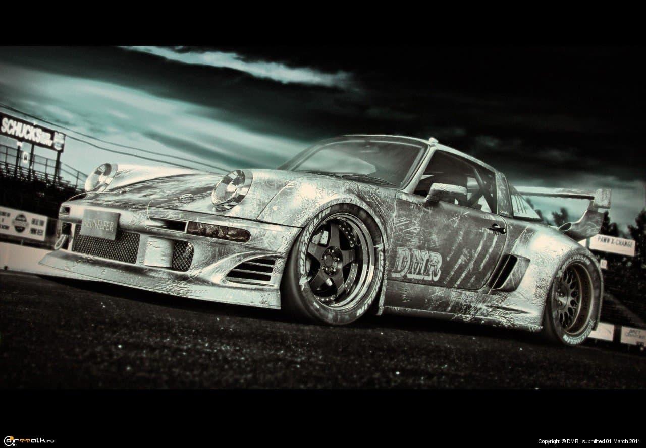 Porsche 911 Turbo Targa (930) 2.8 Twin Turbo Engine (959) 444 Hp
