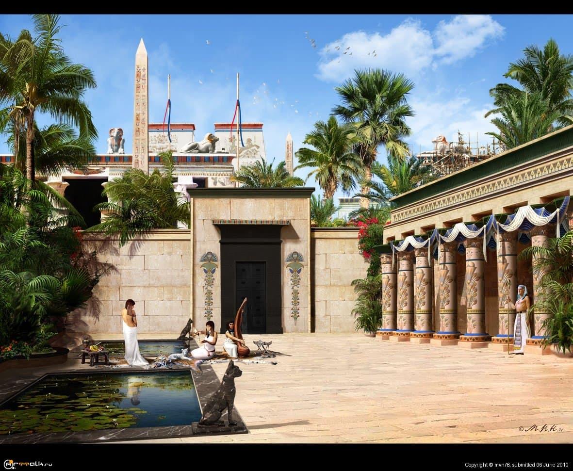 Гераклеополь / Хененнесу   (Дом наместника фараона)