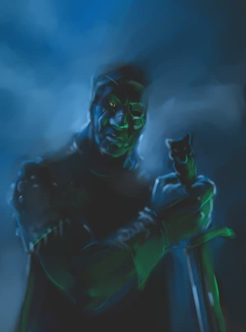 Страшный добрый Ведьмак..