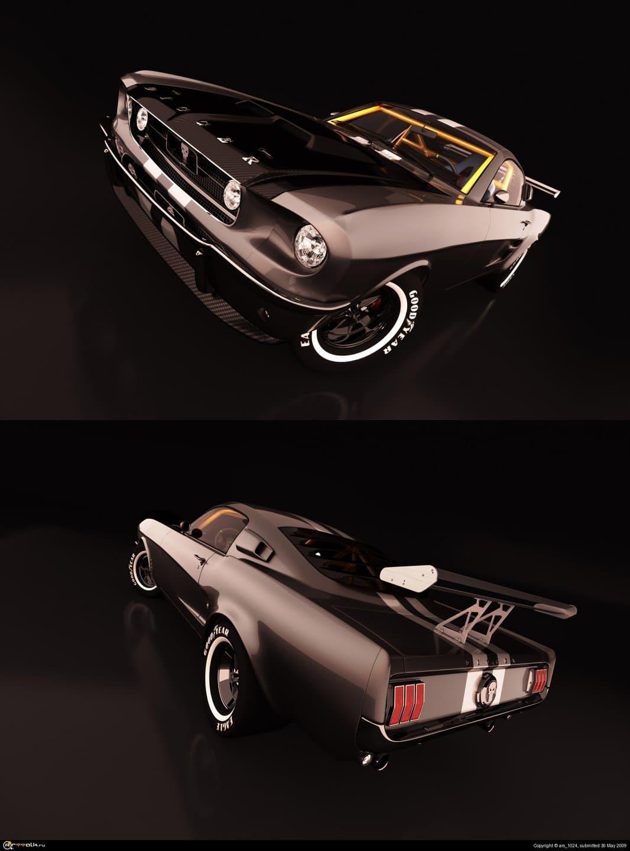 Ford Mustang Aka Digger