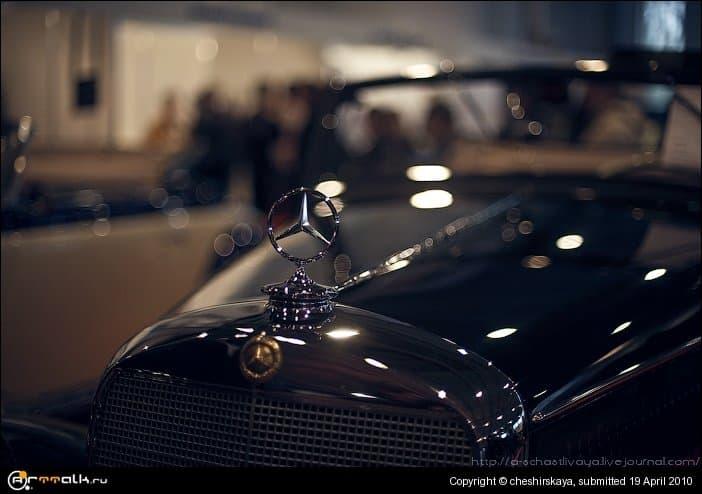 Mercedes. Retro Car