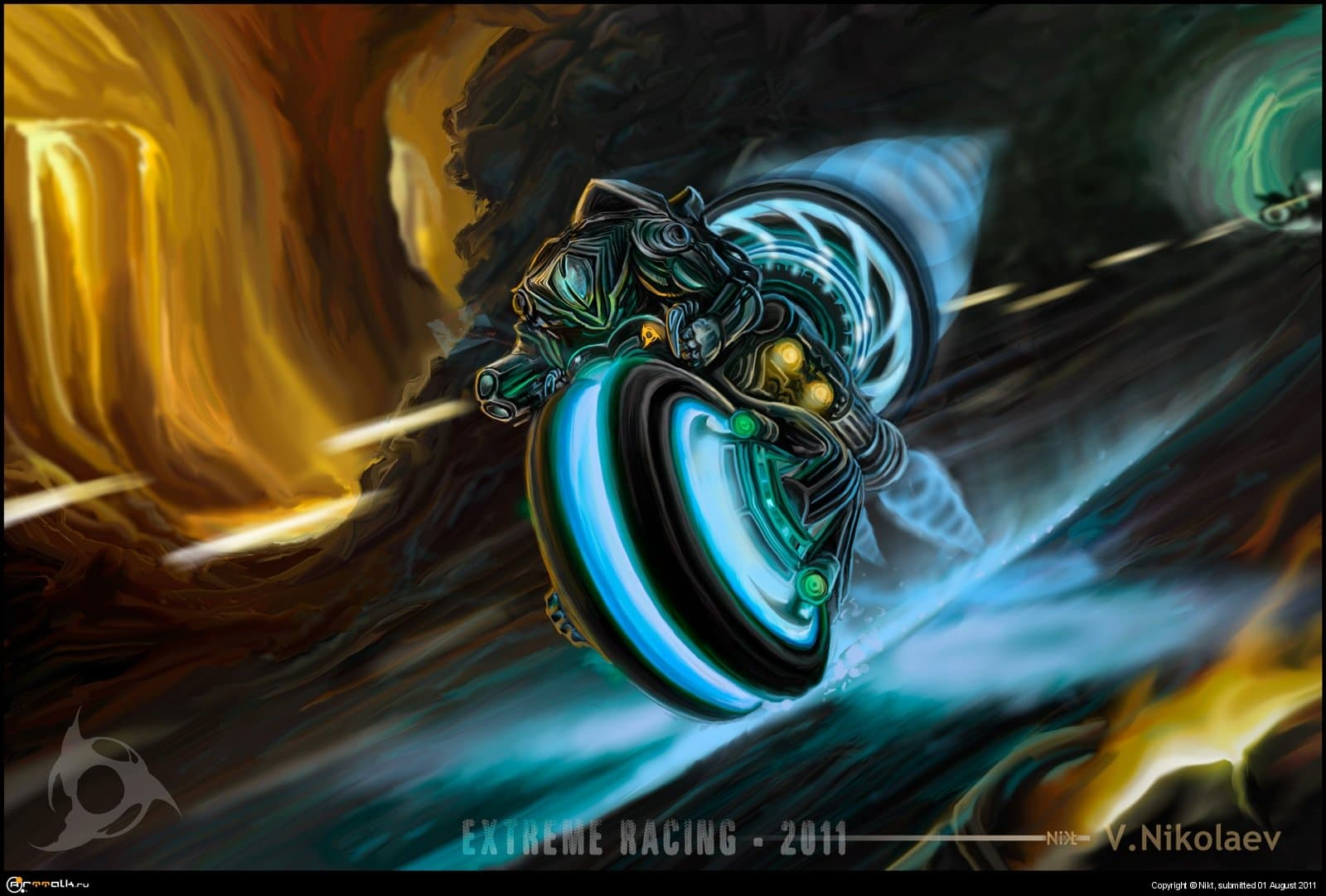 Biker From Extreme Racing