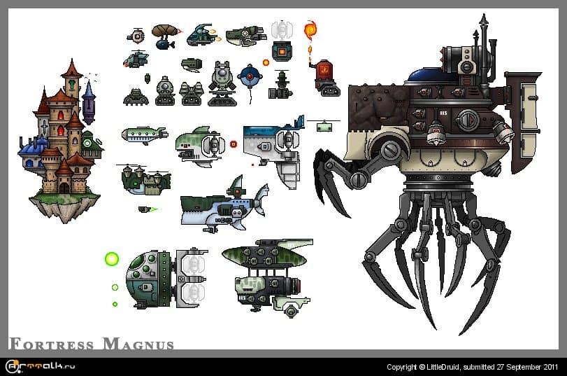 Fortress Magnus Creatures