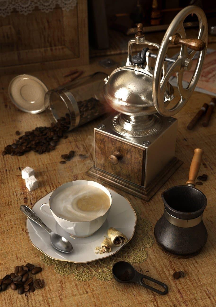 Ароматный кофе II