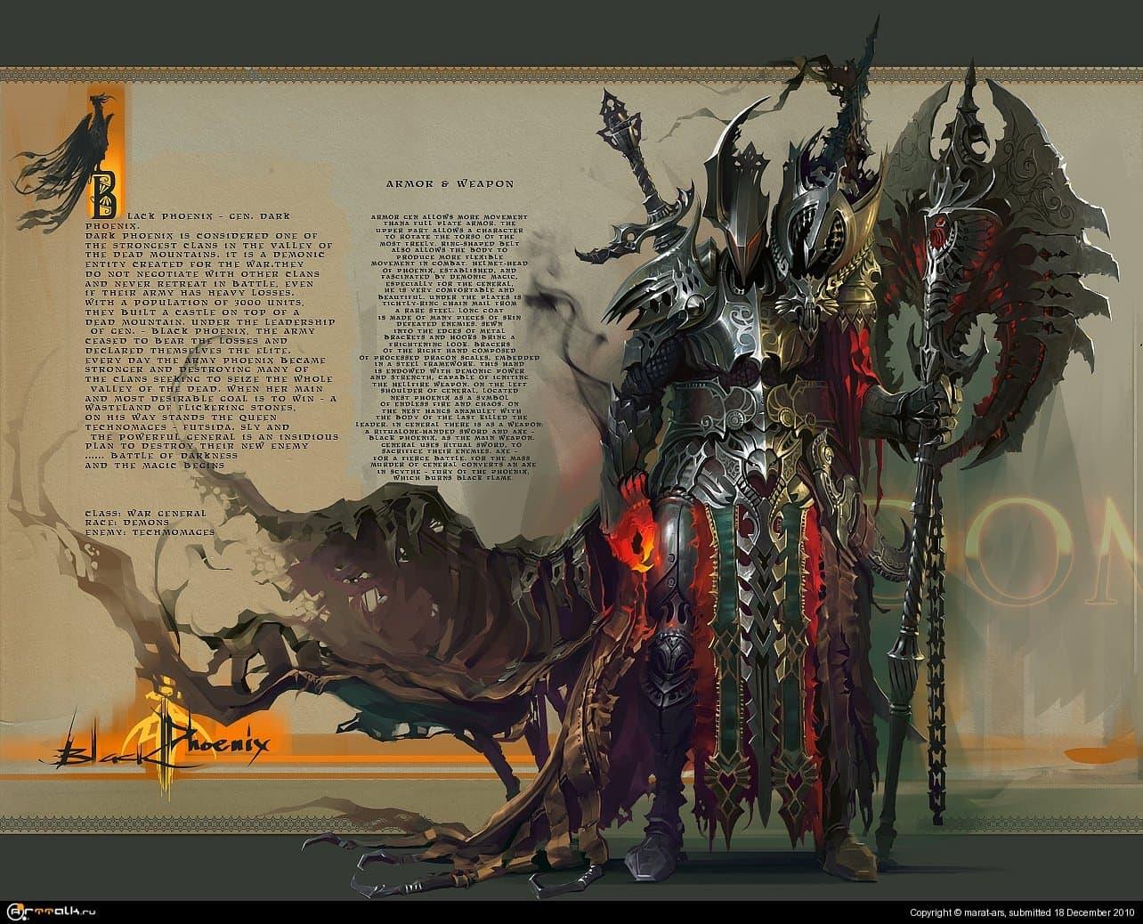 """Pre-dw5 / wargeneral """"black Phoenix"""""""