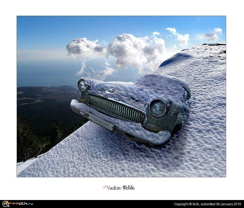 Снег-гора