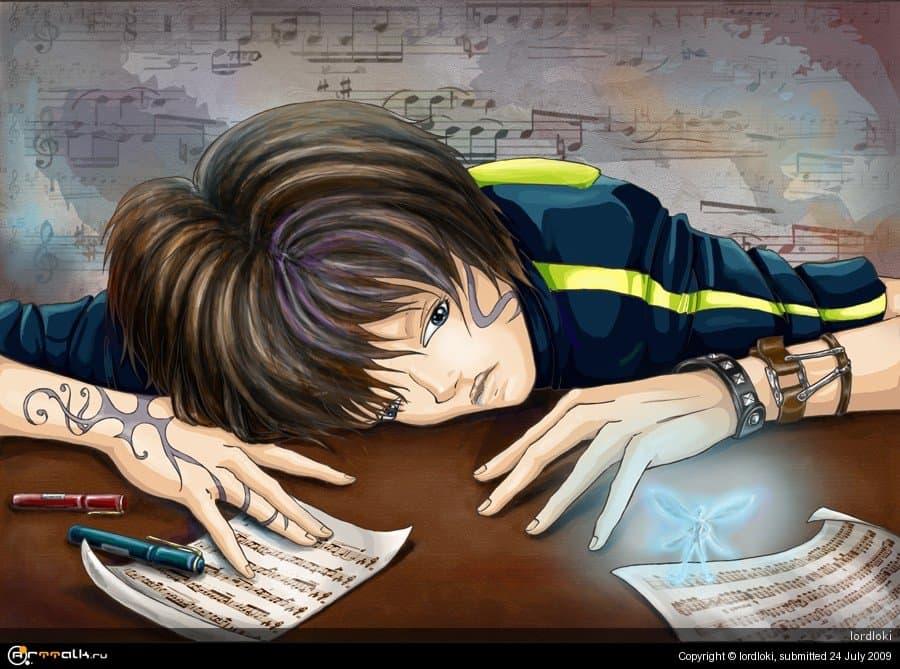 Клавишник и муза