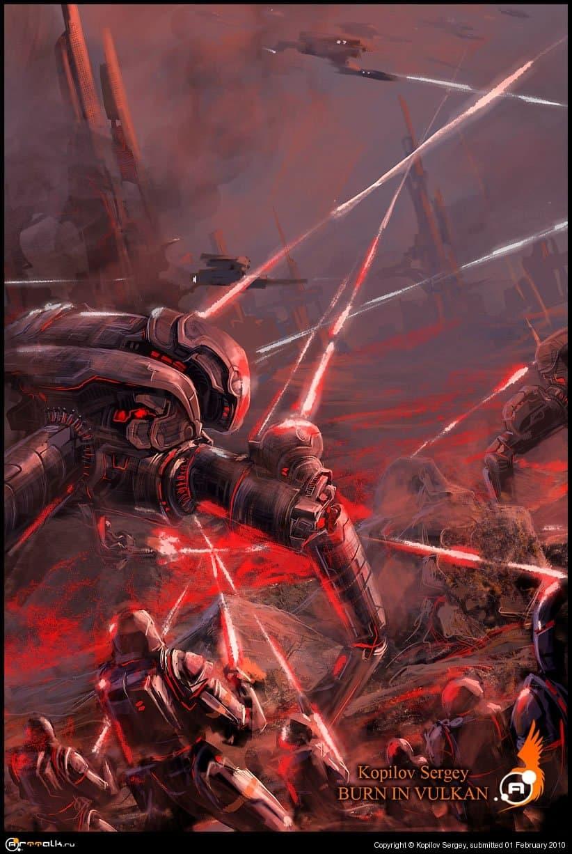 Войны вулкана 3