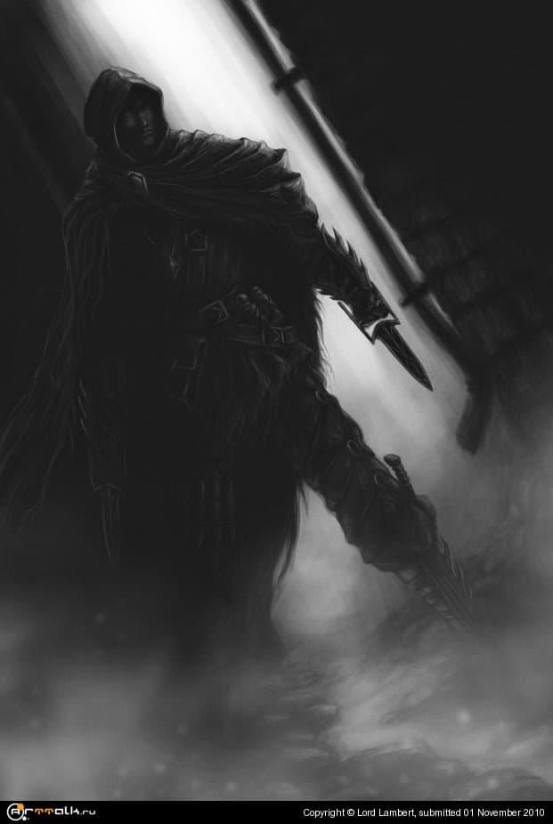 Головорез в темном переулке