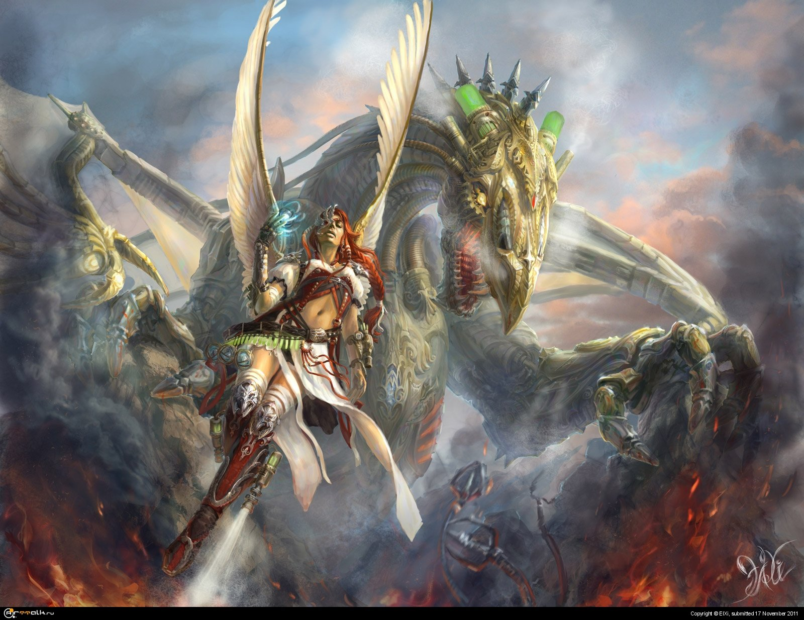 Дракон Сотворенный и маг