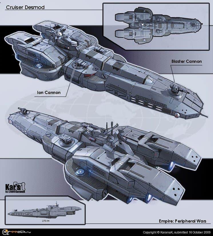 Cruiser Desmod (concept)