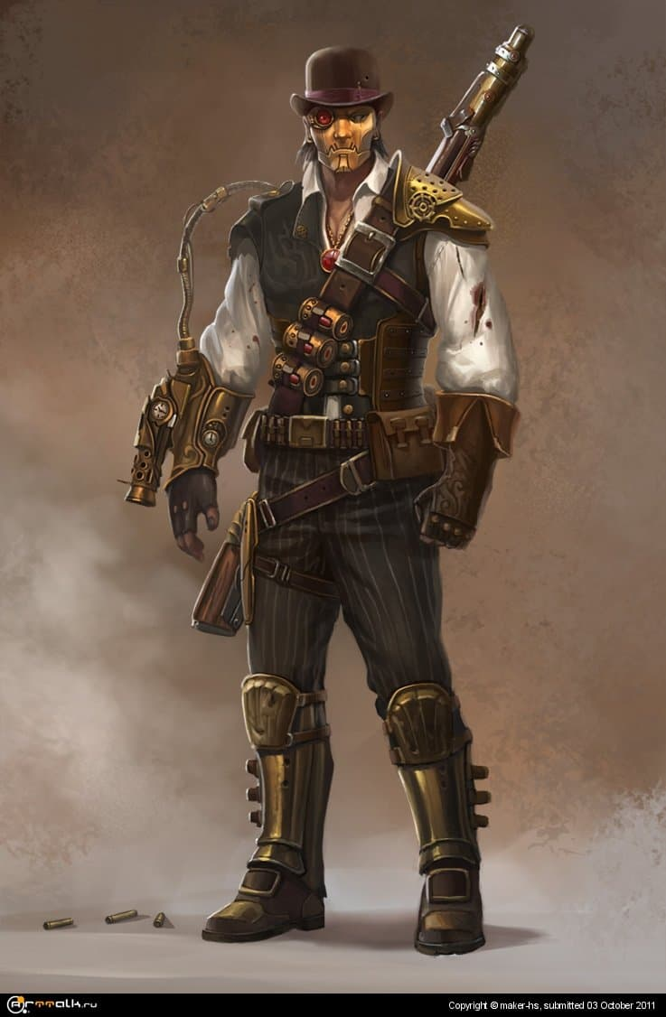 Deadshot Steampunk