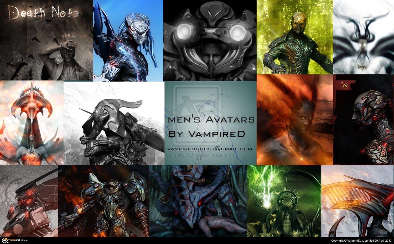 Men''s Avatars By Vampired