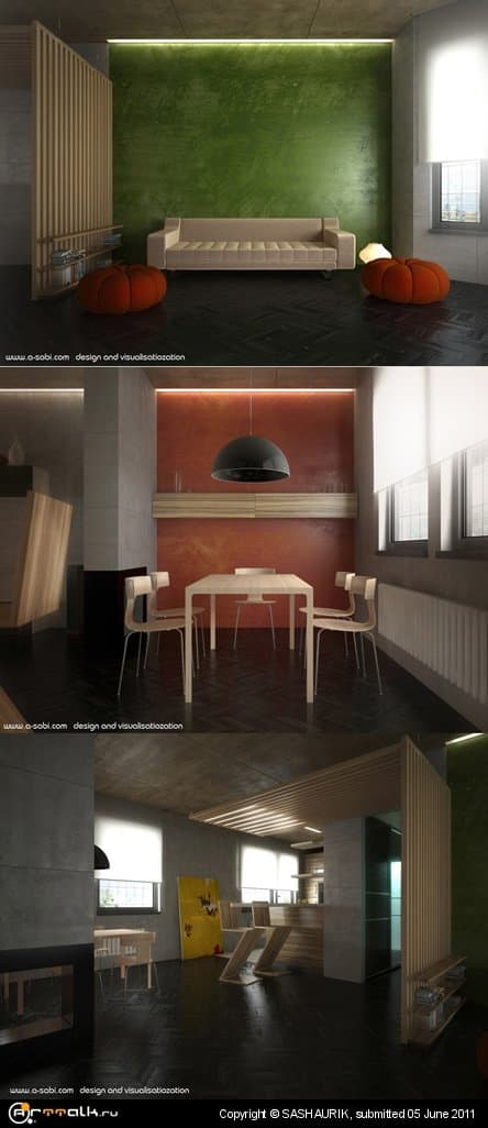 Dmitry Petrov Interior Animation