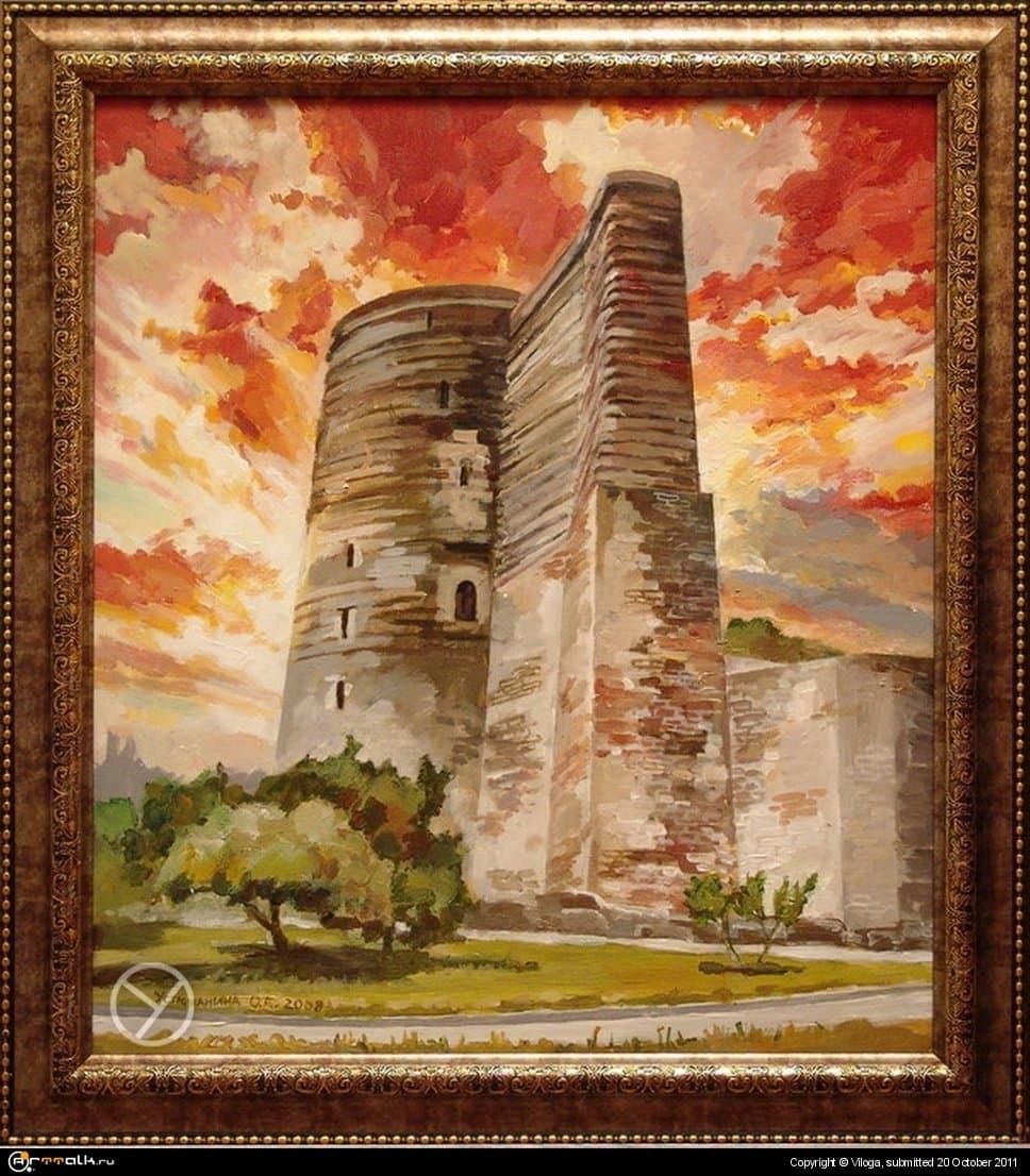 Крепость в Баку