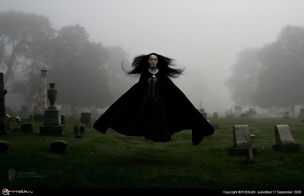 Дети, не играйте на кладбище!